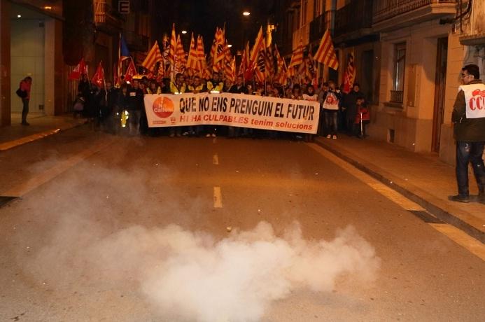 Manifestació de la vaga general, 14N