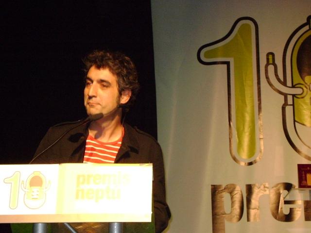 Roger de Gràcia va ser el presentador dels Premis Neptú