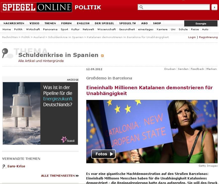 Portal digital Spiegel.de