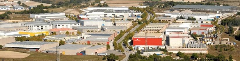 El polígon Plans d'Arau, on hi ha Novares, una de les empreses afectades
