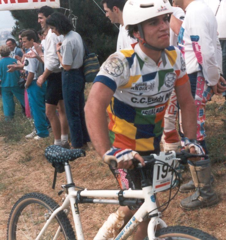 Primera cursa 1991 amb els color de l'Eddy Mur