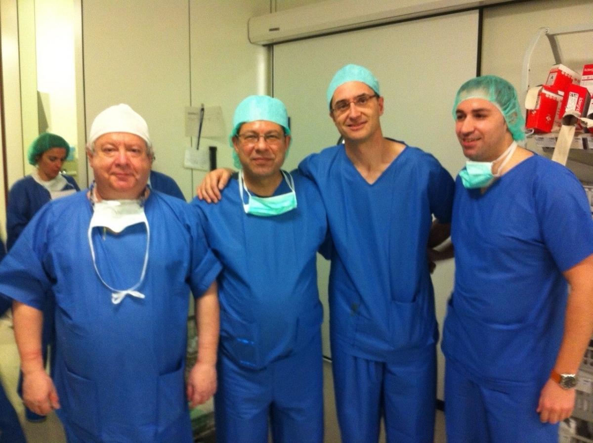 La visita de metges saudites, durant les jornades