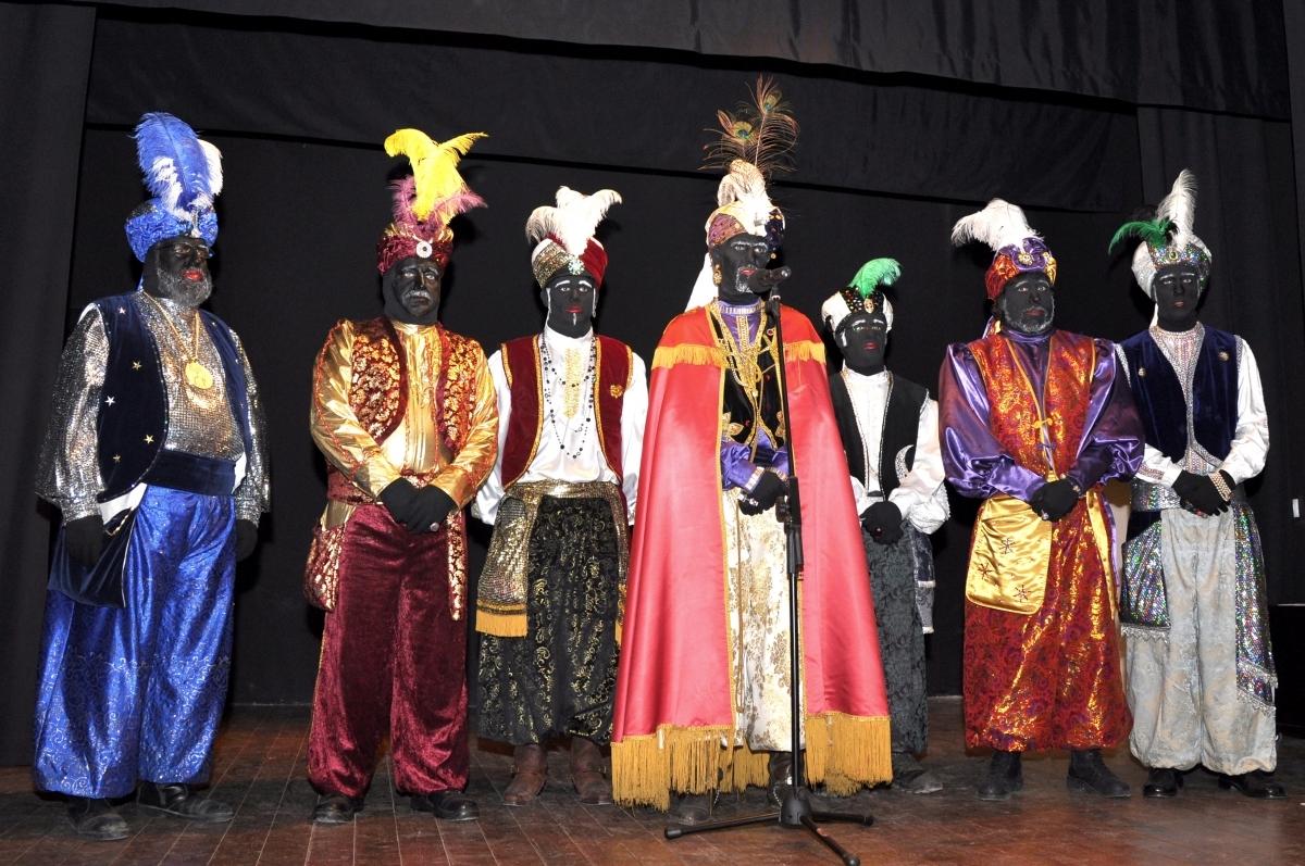 Els patges, aquí en una imatge de l'any passat, arribaran a Montmaneu el 26